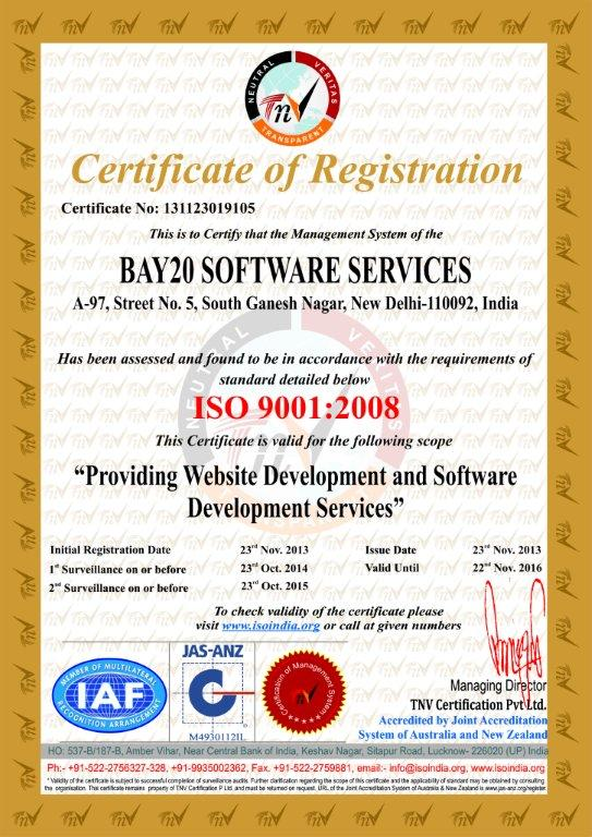 BAY20 SOFTWARE SERVICES